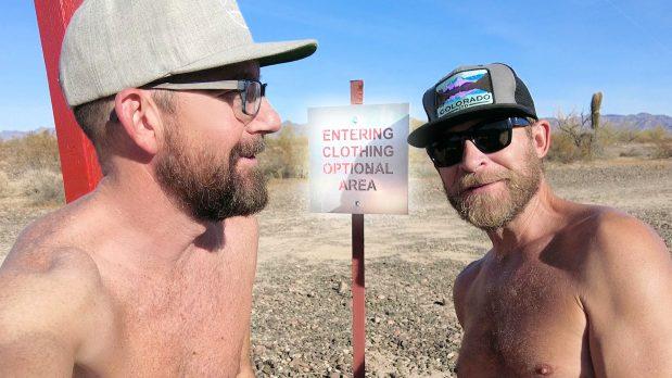 Clothing Optional/Nudist Camping   Magic Circle   Quartzsite, AZ