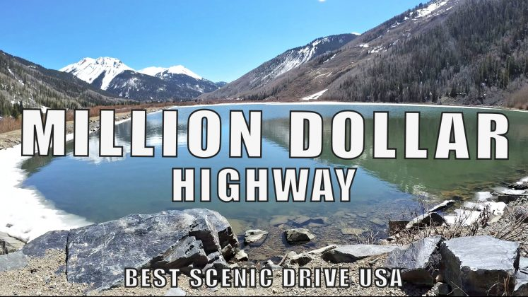 MILLION DOLLAR Highway | Box Canyon | Ouray COLORADO | Ridgway State Park