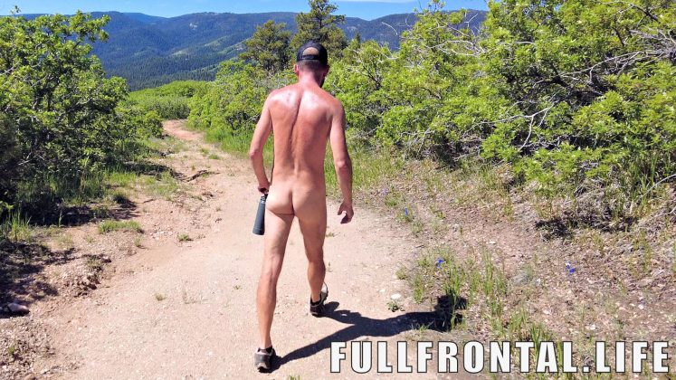 NAKED Hike in BEAR Country   Nudist Resort Trail Hike   Mountain Air Ranch in Colorado - FullFrontal.Life