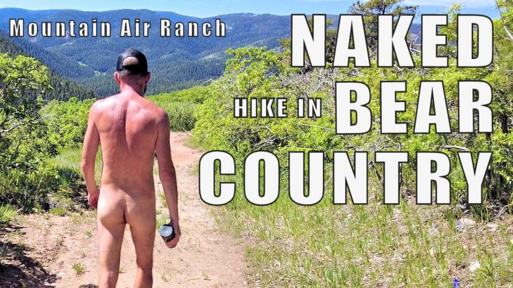 NAKED Hike in BEAR Country | Nudist Resort Trail Hike | Mountain Air Ranch in Colorado